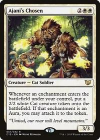 Ajani's Chosen, Magic: The Gathering, Commander 2015