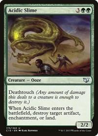 Acidic Slime, Magic: The Gathering, Commander 2015