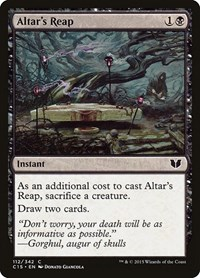 Altar's Reap, Magic: The Gathering, Commander 2015