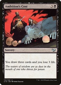 Ambition's Cost, Magic: The Gathering, Commander 2015