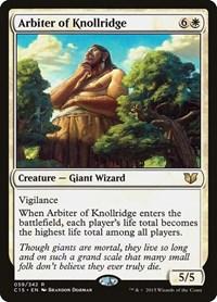 Arbiter of Knollridge, Magic: The Gathering, Commander 2015