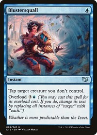 Blustersquall, Magic: The Gathering, Commander 2015