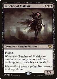 Butcher of Malakir, Magic: The Gathering, Commander 2015