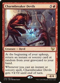 Charmbreaker Devils, Magic: The Gathering, Commander 2015