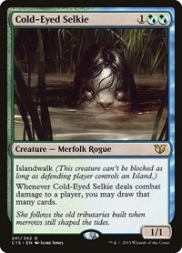 Cold-Eyed Selkie, Magic: The Gathering, Commander 2015