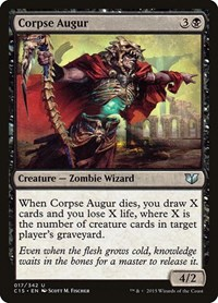 Corpse Augur, Magic: The Gathering, Commander 2015