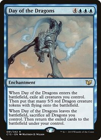 Day of the Dragons, Magic: The Gathering, Commander 2015