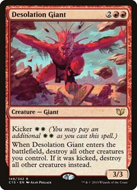 Desolation Giant, Magic: The Gathering, Commander 2015