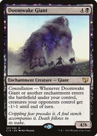Doomwake Giant, Magic: The Gathering, Commander 2015