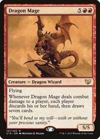 Dragon Mage, Magic: The Gathering, Commander 2015