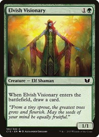 Elvish Visionary, Magic: The Gathering, Commander 2015