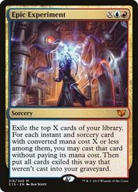 Epic Experiment, Magic: The Gathering, Commander 2015