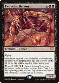 Extractor Demon, Magic: The Gathering, Commander 2015