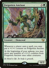 Forgotten Ancient, Magic: The Gathering, Commander 2015