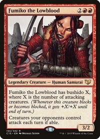 Fumiko the Lowblood, Magic: The Gathering, Commander 2015