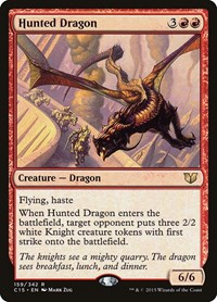 Hunted Dragon, Magic: The Gathering, Commander 2015