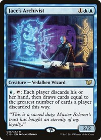 Jace's Archivist, Magic, Commander 2015