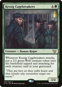 Kessig Cagebreakers, Magic: The Gathering, Commander 2015