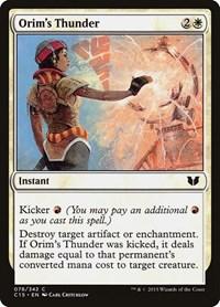 Orim's Thunder, Magic: The Gathering, Commander 2015