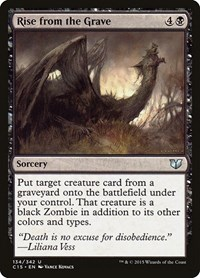 Rise from the Grave, Magic: The Gathering, Commander 2015