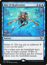 Rite of Replication, Magic: The Gathering, Commander 2015