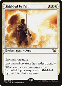 Shielded by Faith, Magic: The Gathering, Commander 2015