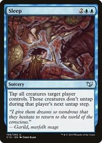 Sleep, Magic: The Gathering, Commander 2015