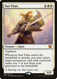 Sun Titan, Magic, Commander 2015