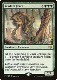 Verdant Force, Magic: The Gathering, Commander 2015