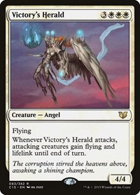 Victory's Herald, Magic: The Gathering, Commander 2015