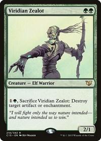 Viridian Zealot, Magic, Commander 2015