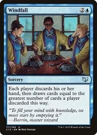 Windfall, Magic: The Gathering, Commander 2015
