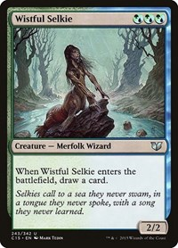 Wistful Selkie, Magic: The Gathering, Commander 2015
