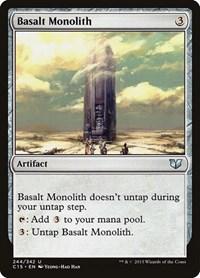 Basalt Monolith, Magic, Commander 2015