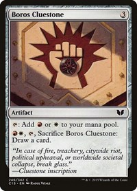 Boros Cluestone, Magic, Commander 2015
