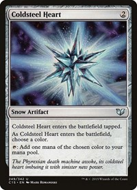 Coldsteel Heart, Magic, Commander 2015