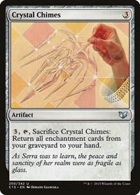 Crystal Chimes, Magic: The Gathering, Commander 2015