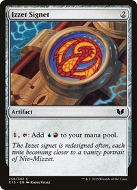 Izzet Signet, Magic: The Gathering, Commander 2015