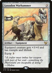 Loxodon Warhammer, Magic: The Gathering, Commander 2015