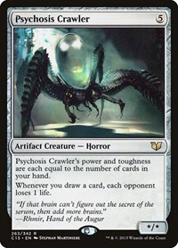 Psychosis Crawler, Magic: The Gathering, Commander 2015