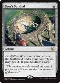 Seer's Sundial, Magic: The Gathering, Commander 2015