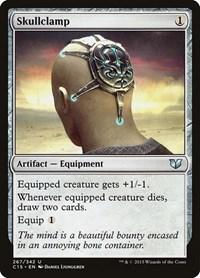 Skullclamp, Magic: The Gathering, Commander 2015