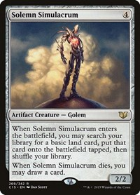 Solemn Simulacrum, Magic: The Gathering, Commander 2015