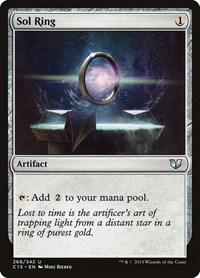 Sol Ring, Magic: The Gathering, Commander 2015