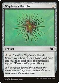 Wayfarer's Bauble, Magic: The Gathering, Commander 2015