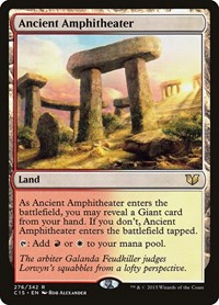 Ancient Amphitheater, Magic: The Gathering, Commander 2015