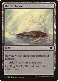Barren Moor, Magic: The Gathering, Commander 2015