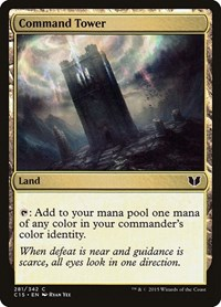 Command Tower, Magic: The Gathering, Commander 2015