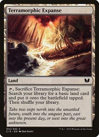 Terramorphic Expanse, Magic: The Gathering, Commander 2015