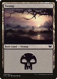 Swamp (333), Magic: The Gathering, Commander 2015